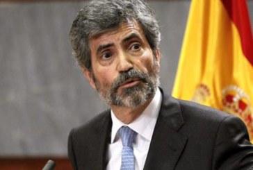 El presidente del CGPJ critica reacciones contra jueces alentadas por políticos