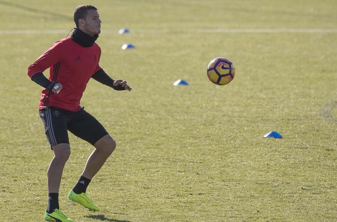 Osasuna realiza trabajo por líneas a dos días de recibir al Barça B