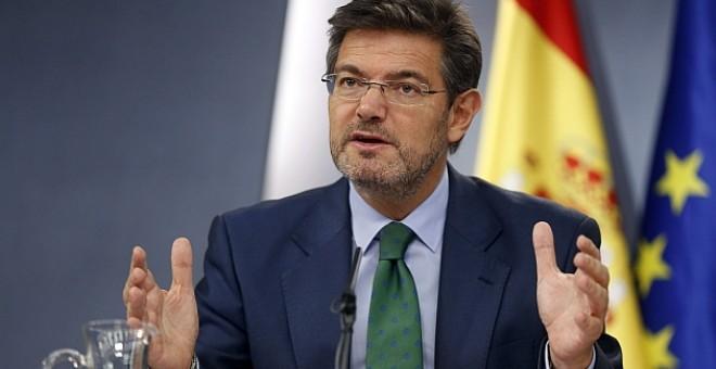 """Catalá: Quien incumple una ley debe """"saber las consecuencias de sus actos"""""""