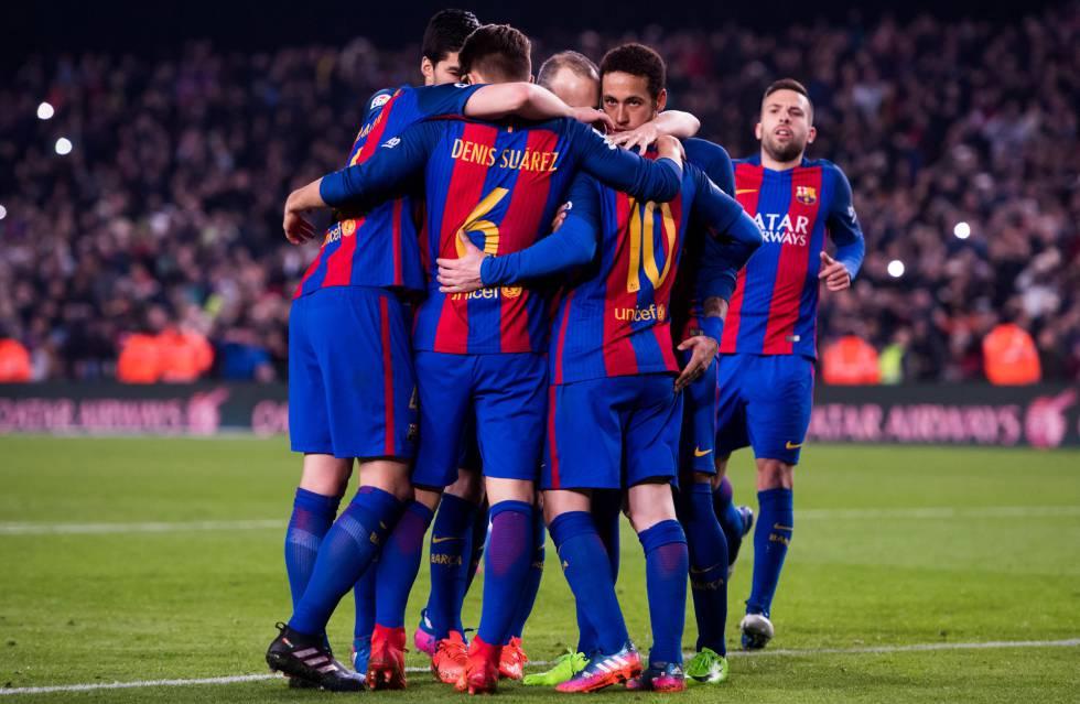 3-0: El Barcelona ahonda en la crisis sevillista con un gran partido