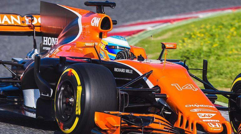 Alonso reaparece en Silverstone tras anunciar retirada de Fórmula Uno en 2019