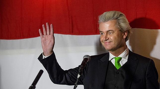 Extrema derecha de Wilders entra con mínimos en varios municipios de Holanda