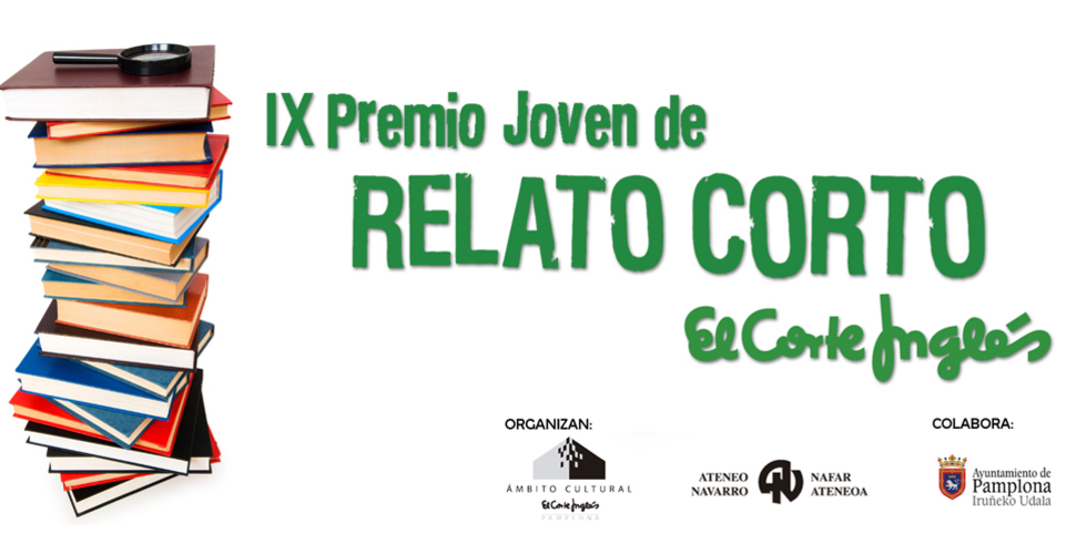 AGENDA: 31 de marzo, en Corte Inglés de Pamplona, presentación X Premio Joven de Relato Corto