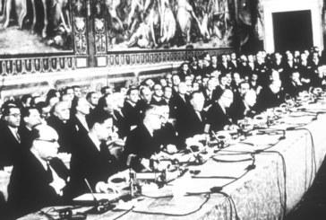 Nace una nueva Europa, se firman los Tratados de Roma