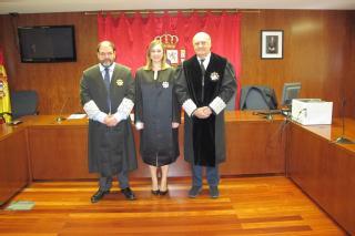 Toma posesión una nueva letrada de la Administración de Justicia destinada en Tafalla