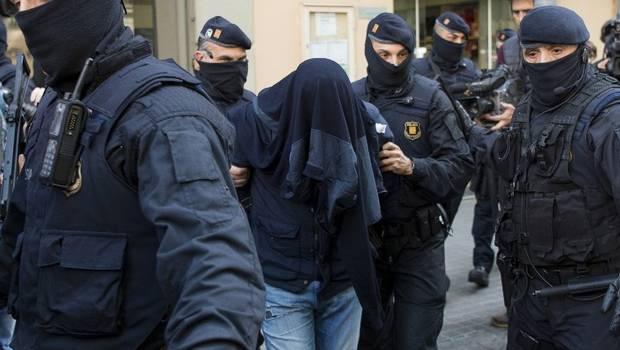 Vinculan a cuatro de los detenidos en Barcelona  con los atentados de Bruselas