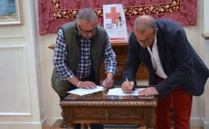 Valentín García Olcoz y Pedro Herrero Vilas