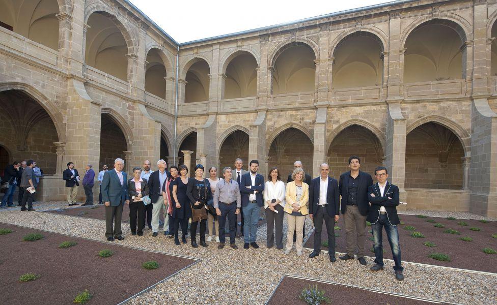 Culminan las obras de restauración del claustro del monasterio de Fitero en Navarra