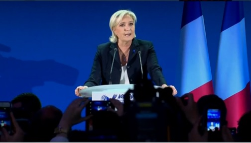 Le Pen: «Es el momento de liberar al pueblo francés»
