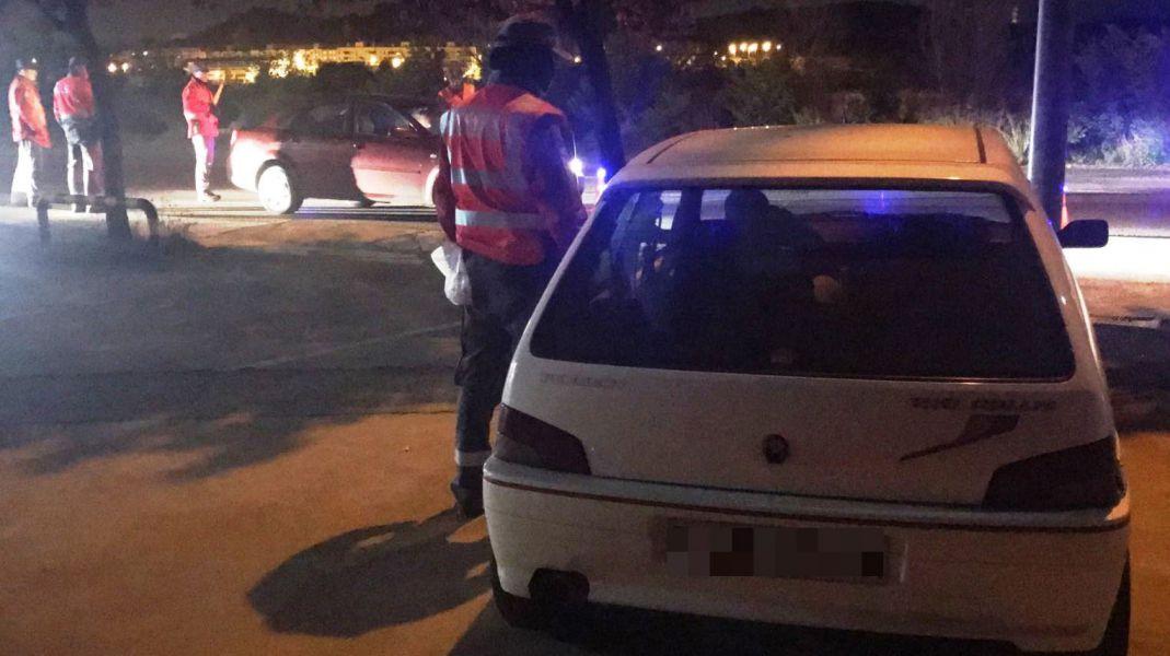 Denunciado un joven conductor de Ablitas de 24 años por dar positivo en cuatro drogas