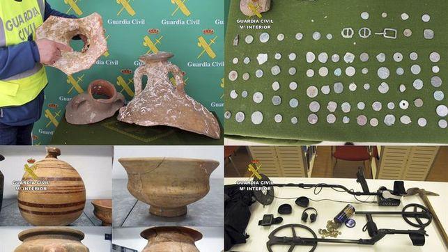 Recuperan 23.000 piezas arqueológicas expoliadas en Murcia, Jaén y Albacete