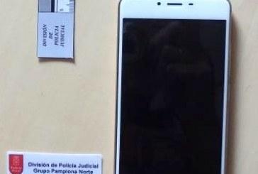 Tres detenidos por el robo de un teléfono móvil en Villava