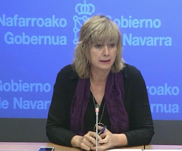 La consejera Ollo presenta las políticas públicas de memoria del Gobierno de Navarra en Olite
