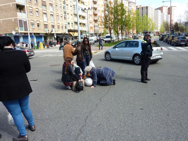 Atropellado un niño de 5 años en la calle Raimundo Lanas