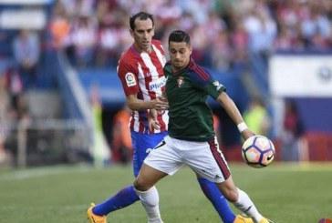 3-0:  Plácida victoria del Atlético de Madrid ante Osasuna