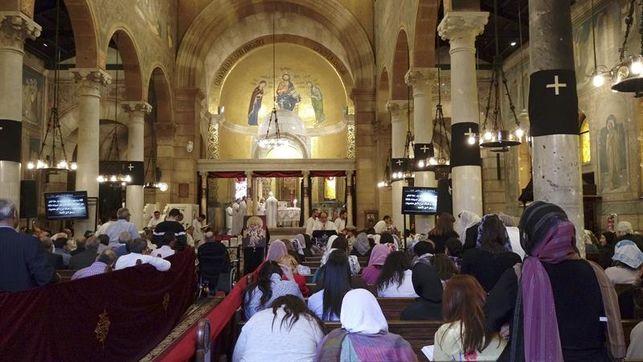Los coptos egipcios se vuelcan con la Semana Santa tras los sangrientos atentados