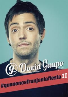 AGENDA: 30 de abril, en Baluarte, David Guapo regresa con #quenonosfrunjanlafiesta2