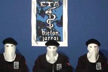 ETA declara que «ya es una organización desarmada»