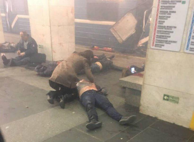 Un ciudadano de Kirguistán podría ser el autor del atentado en el metro de San Petersburgo
