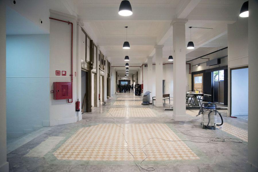 Terminan las obras del 'Geltoki' en la antigua estación de autobuses de Pamplona