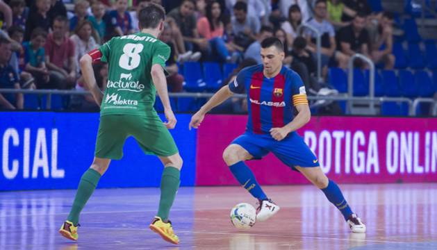 Magna Gurpea conquista el Palau imponiéndose al FC Barcelona Lassa (1-6)