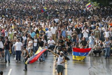 La oposición convoca a tomar todas las calles de Venezuela durante tres días