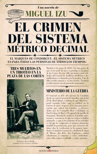 """AGENDA: 19 de abril, en librería Katakrak en Pamplona, """"El crimen del sistema métrico decimal"""" (Miguel Izu)"""