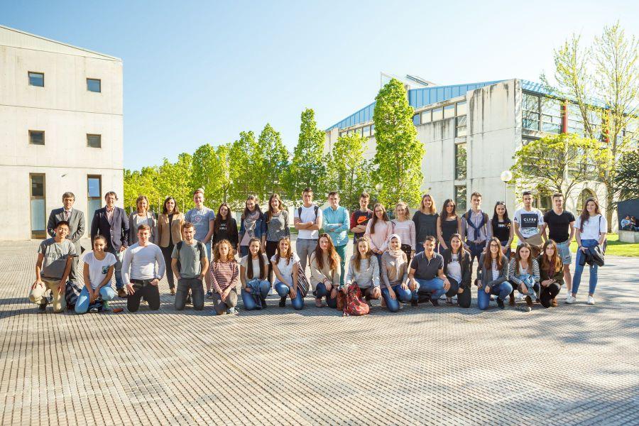 47 estudiantes de Bachillerato participan en la fase local de la IX Olimpiada de Economía organizada por la UPNA