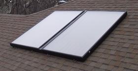 Paneles solares que funcionan con lluvia o niebla