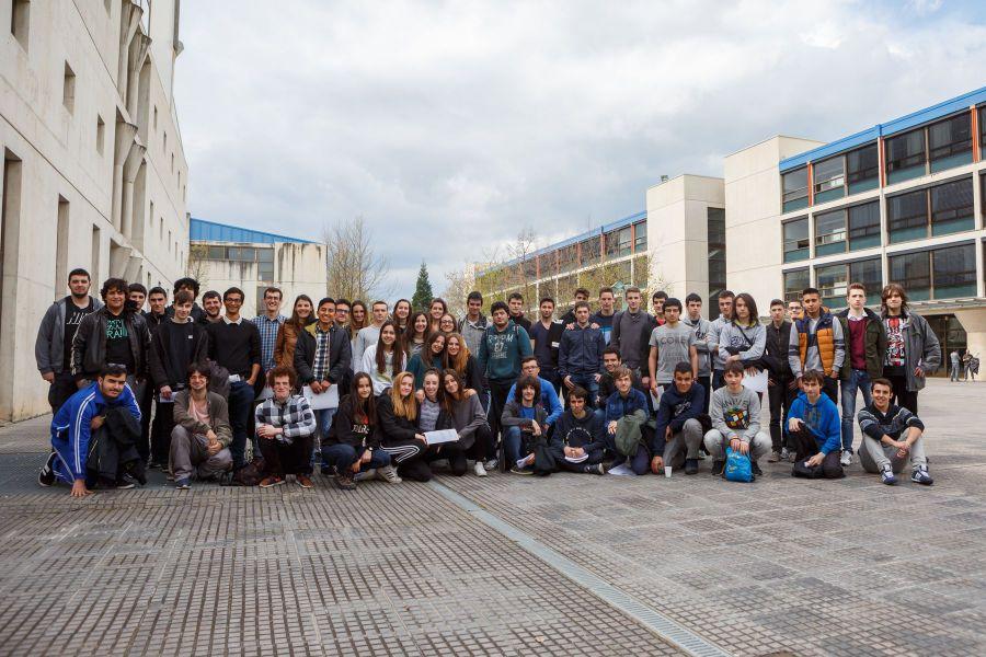 82 estudiantes de Bachillerato y FP participan en la I Olimpiada Informática de Navarra en la UPNA