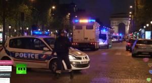 Fuerzas de seguridad francesas tras el tiroteo. Cadena RT