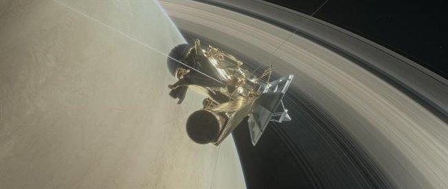 La NASA anuncia la desintegración de la sonda Cassini en la atmósfera de Saturno