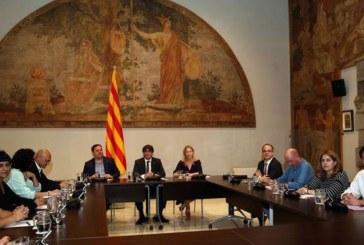 Puigdemont no concreta la fecha del referéndum tras la reunión de los partidos separatistas