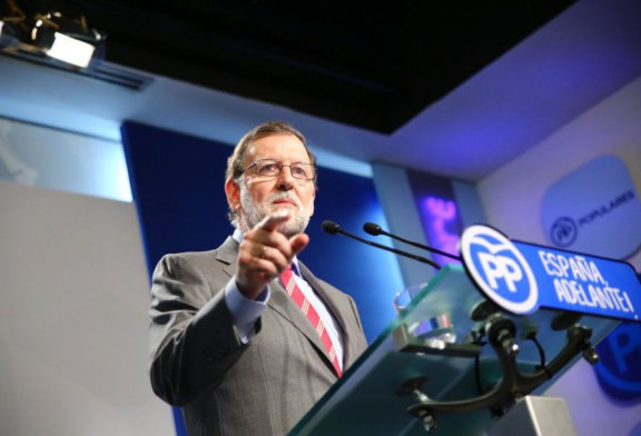 """Rajoy no consentirá el gravísimo """"chantaje al Estado"""" que plantea Puigdemont"""