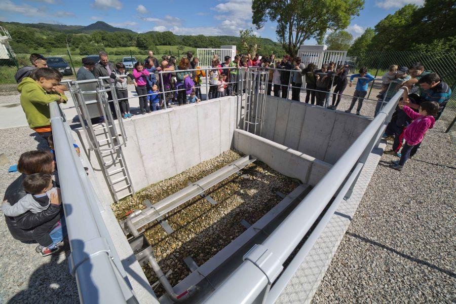 Inaugurada la depuradora Lanz, que dará servicio a 140 personas