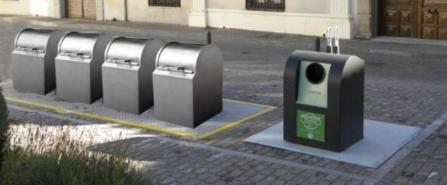 PSN en Villafranca apoya la instalación en la localidad de contenedores soterrados