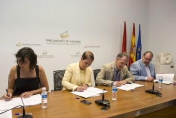 Geroa Bai, EH Bildu, Podemos e I-E ponen de manifiesto su apuesta por el cambio