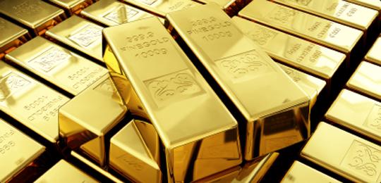 El oro sube un 0,80% a 1.321 dólares