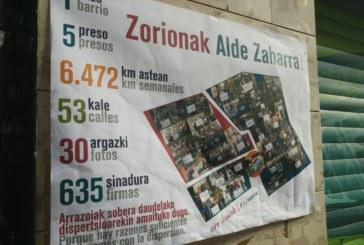 UPN exige la retirada de nuevos carteles a favor de presos de ETA en el Casco Antiguo