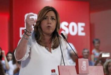 Susana Díaz: «Levantemos el PSOE para levantar el país»