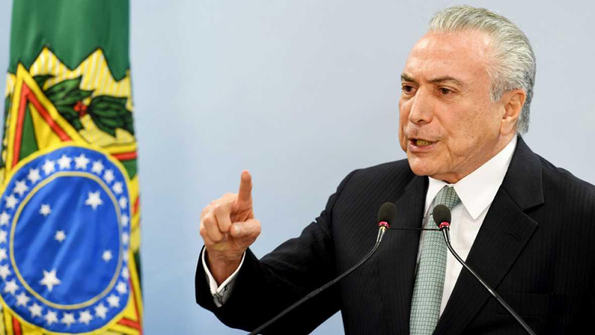 Un empresario brasileño confiesa sobornos a Temer desde 2010