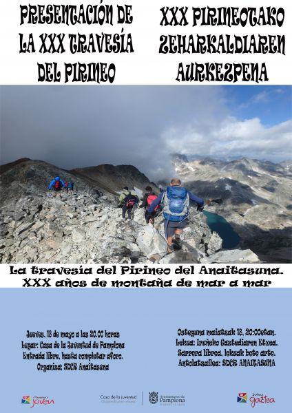 El Ayuntamiento subvencionará a jóvenes de Pamplona que participen en la travesía del Pirineo del Anaitasuna