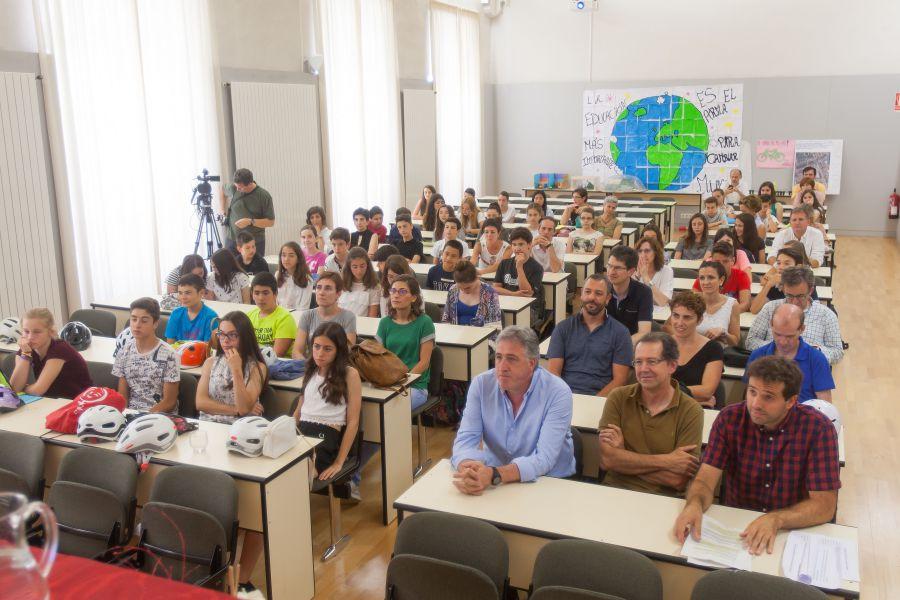 LIFE+RESPIRA: Asirón recibe las sugerencias de los escolares para mejorar la calidad del aire en Pamplona