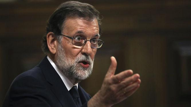 Rajoy evita avanzar si prevé recurrir al artículo 155 de la Constitución