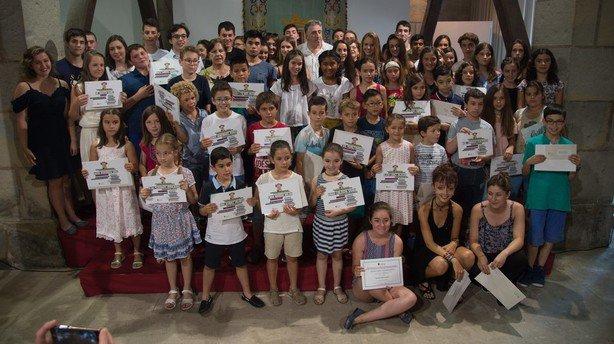Entregados los premios del Concurso Literario de Primaria y primer ciclo de ESO