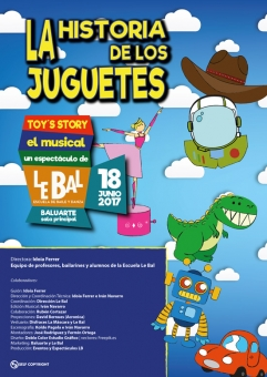 AGENDA: 18 de junio, en Baluarte, la historia de los juguetes 'Toy´s Story'