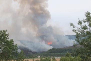 Controlados los tres incendios declarados esta tarde en Galar, Arazuri y Artajona
