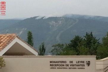 Controlado el incendio en la zona de Yesa (Navarra) y Aragón