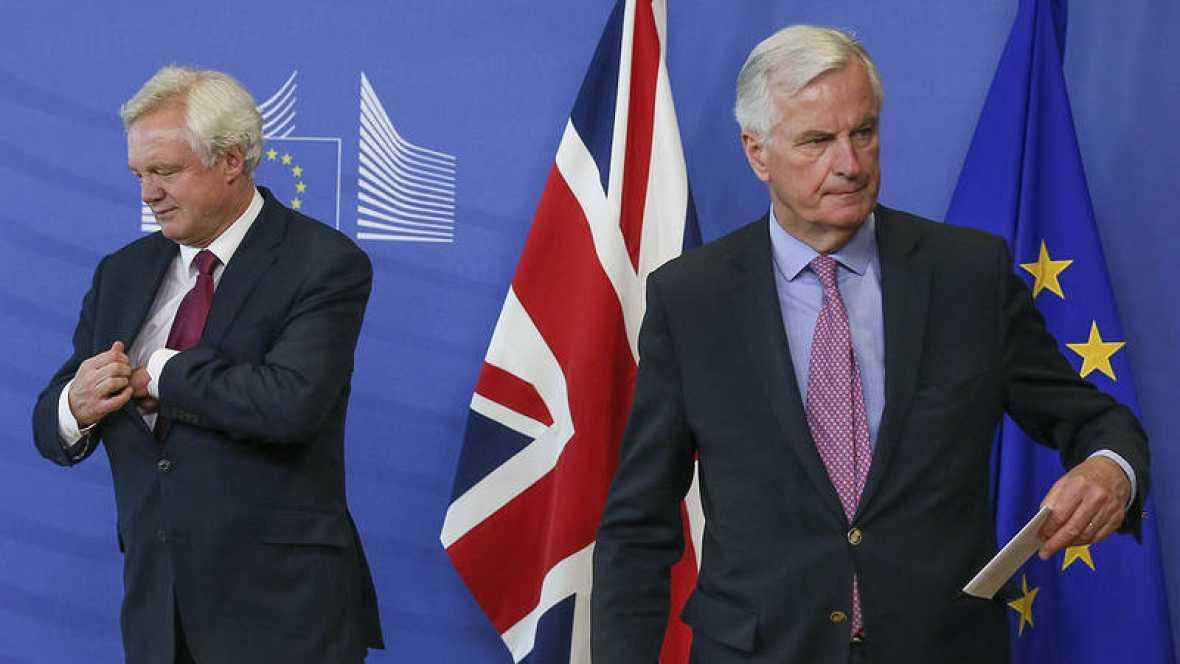 """UE y Reino Unido inician hoy una cuarta ronda de negociación del """"brexit"""""""
