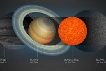 La estrella más pequeña encontrada hasta ahora es un poco mayor que Saturno